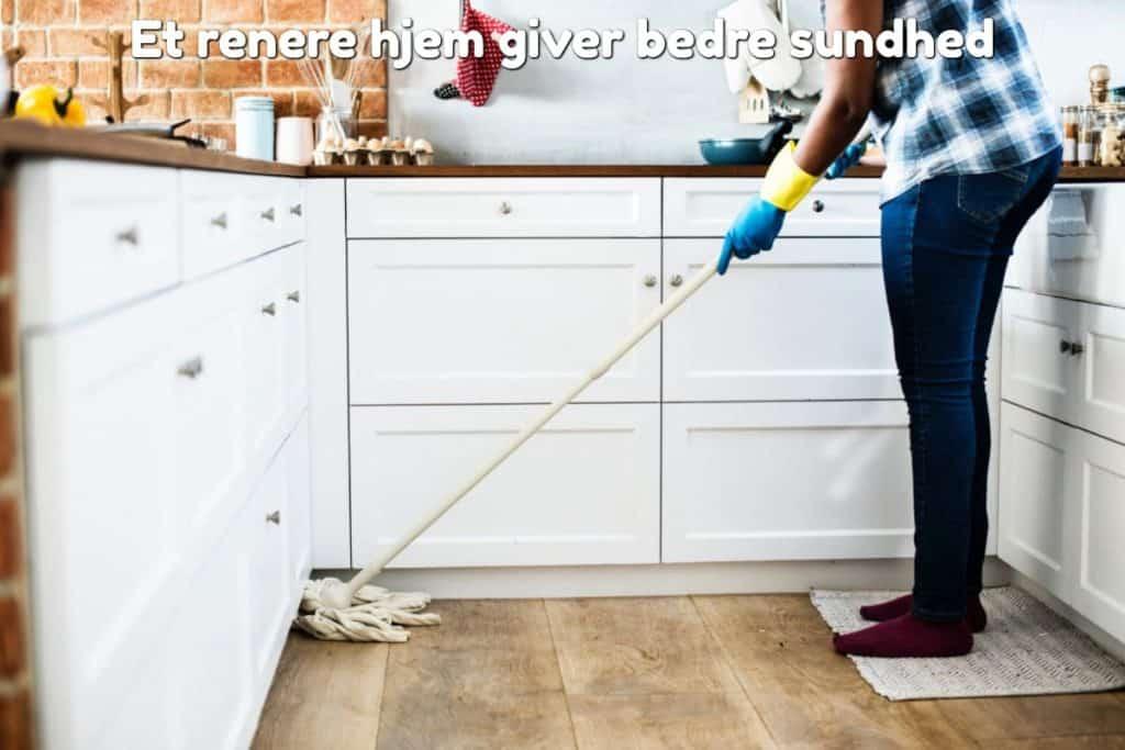 Et renere hjem giver bedre sundhed
