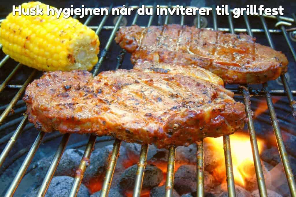 Husk hygiejnen når du inviterer til grillfest